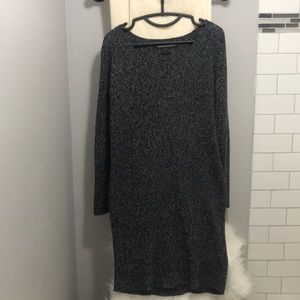French connection cable knit dress
